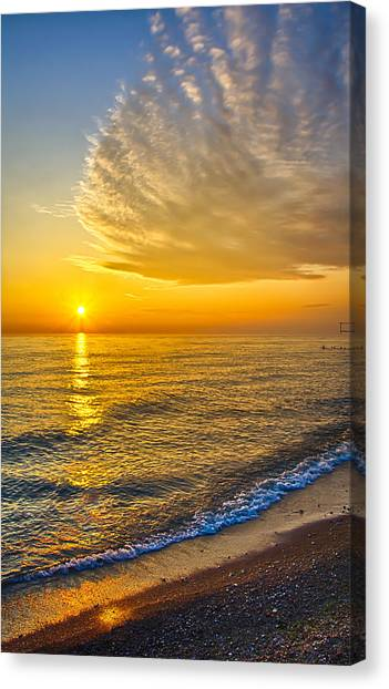 Sunrise 10-30-13 Canvas Print