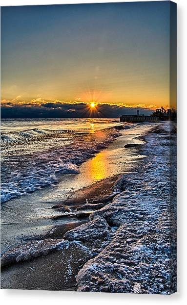 Sunrise 12-5-13 II Canvas Print