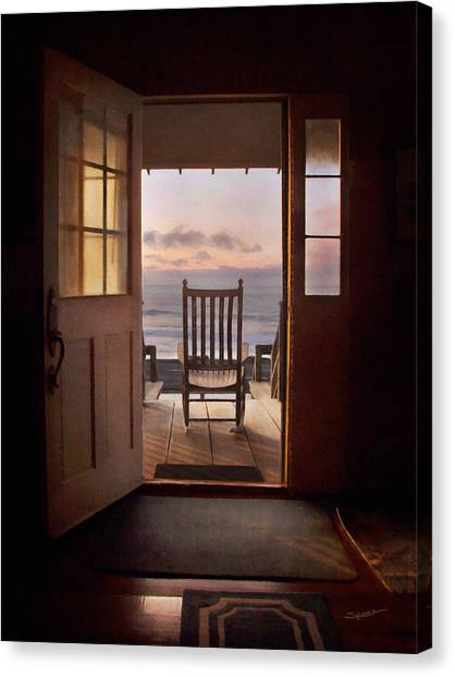 Sunrise- A Front Row Seat Canvas Print