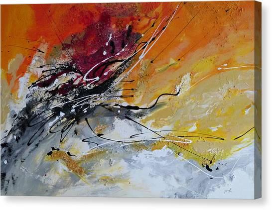 Sunrise - Abstract Art Canvas Print