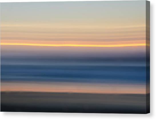 Sunrise Abstract Canvas Print