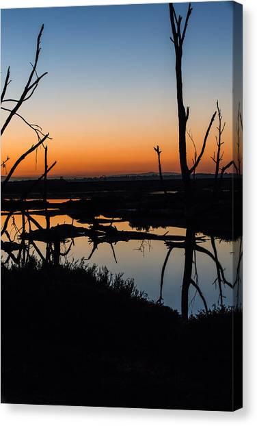 Sunrise Across The Sacred Land Canvas Print