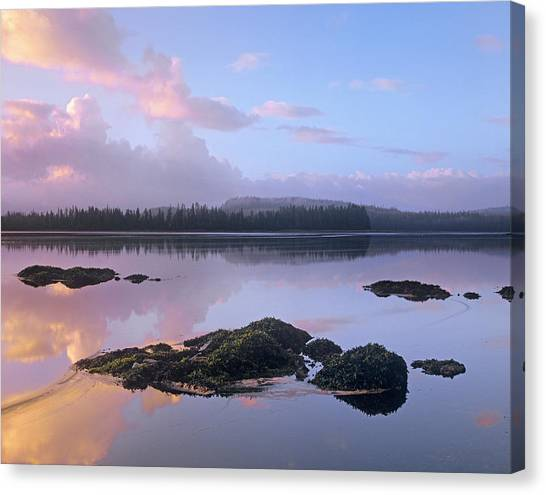 Tongass National Forest Canvas Print - Sunrise At Kopreanof Island, Tongass by Tim Fitzharris