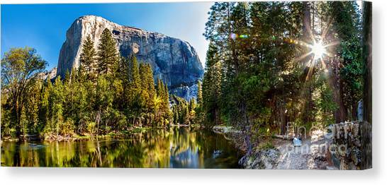 Yosemite Canvas Print - Sunrise At Yosemite by Az Jackson