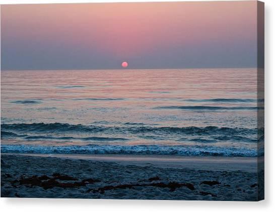 Sunrise Blush Canvas Print