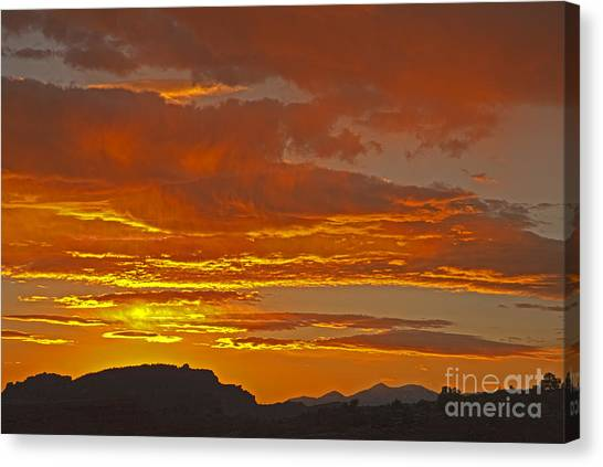 Sunrise Capitol Reef National Park Canvas Print
