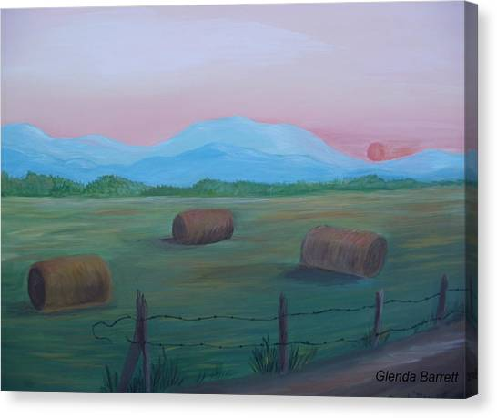 Sunrise Canvas Print by Glenda Barrett