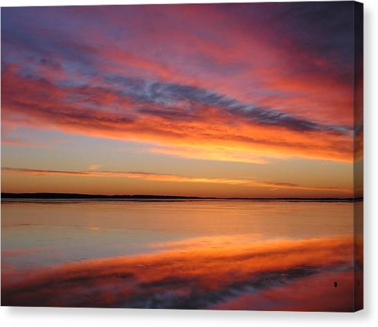sunrise Glow Canvas Print