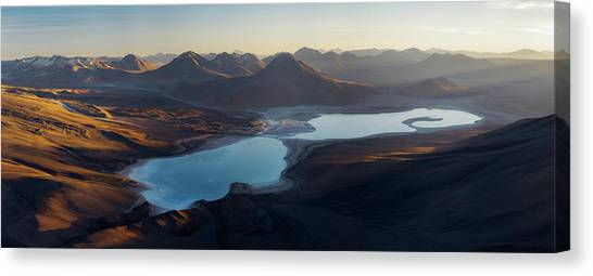 Chilean Canvas Print - Sunrise In Atakama by Rostovskiy Anton