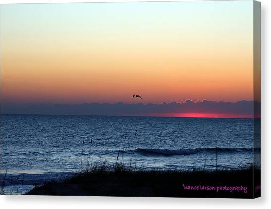 Sunrise In Florida Canvas Print