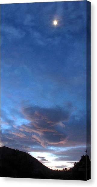 Sunrise In Joshua Tree Canvas Print