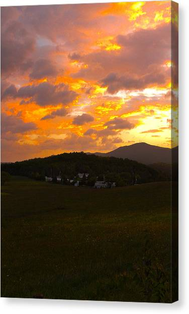 Sunrise In The Smokies Canvas Print