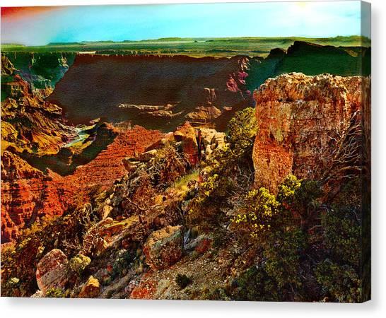 Sunrise Lipan Point Grand Canyon Canvas Print