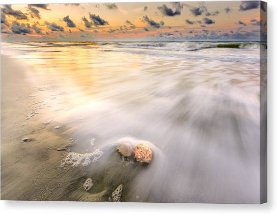 Sunrise On Hilton Head Island Canvas Print