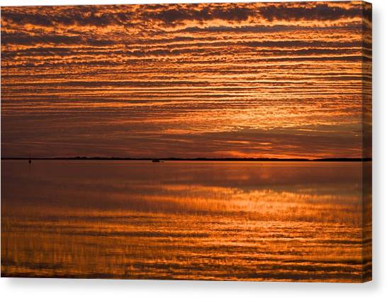 Sunrise On Ramrod Key Canvas Print