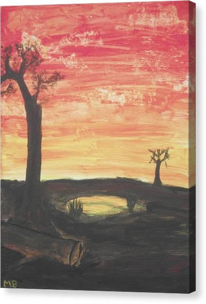 Sunrise Or Sunset Canvas Print