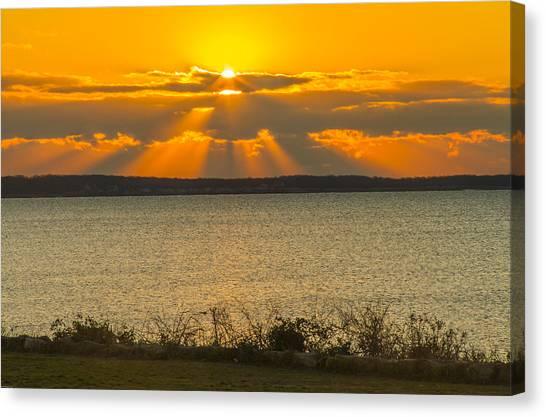 Sunrise Over Fairhaven Canvas Print