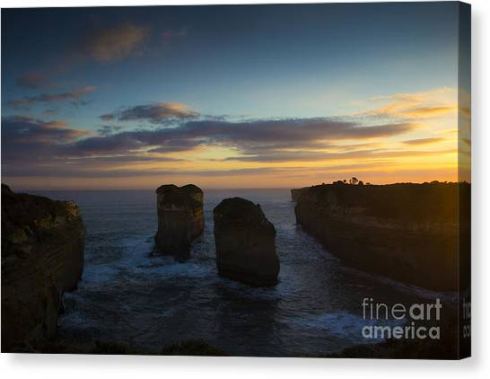 Great Otway National Park Canvas Print - Sunrise Over Loch Ard Gorge by Josephine Caruana