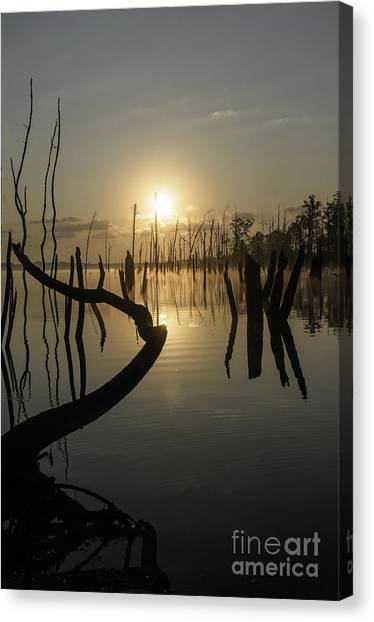 Sunrise Over Manasquan Reservoir II Canvas Print