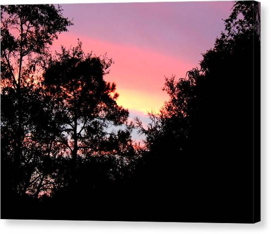 Sunrise Over Perry Canvas Print