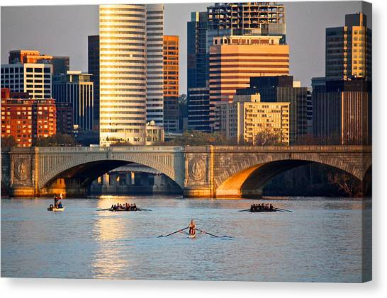 Sunrise Over Rosslyn Canvas Print