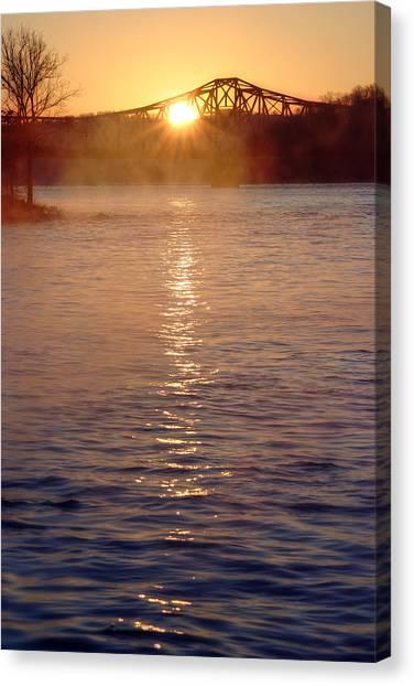 Sunrise Over Table Rock Canvas Print