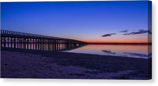 Sunrise Pier Canvas Print