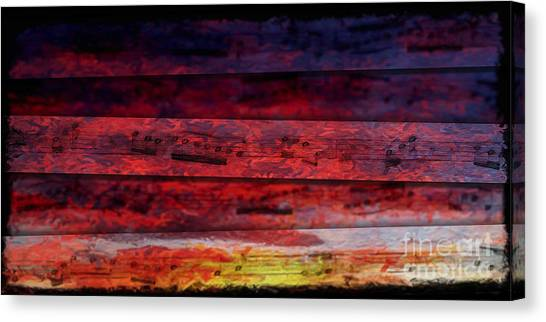 Sunrise Quintet Canvas Print