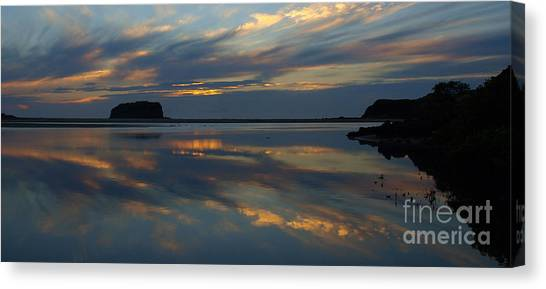 Sunrise Reflections Canvas Print