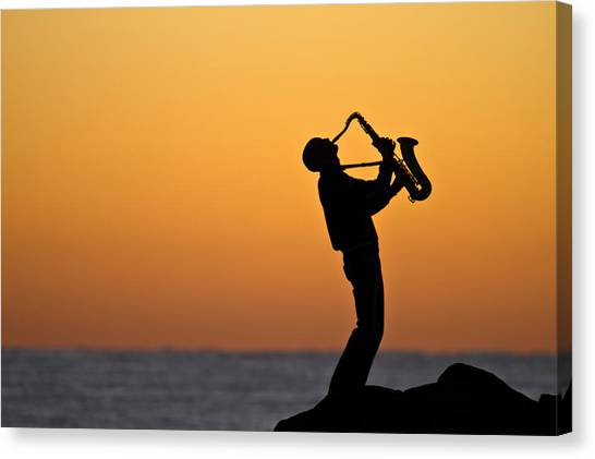Sunrise Serenade Two Canvas Print