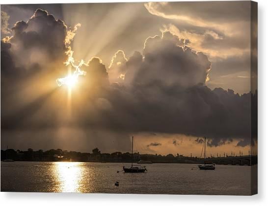 Sunrise St Augustine Bayfront Canvas Print