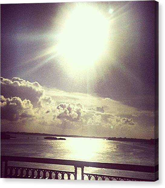 Jupiter Canvas Print - #sunrise #sunset #follow #love #perfect by Eddie Vanderwerff