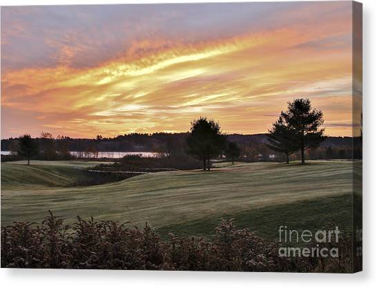 Sunrised Canvas Print