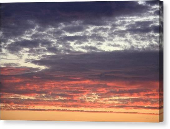 Sun's Last Reflection Canvas Print