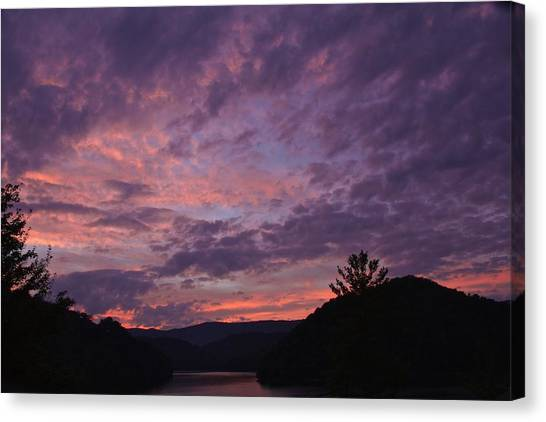 Sunset 2013 Canvas Print