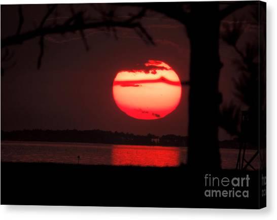 Sunset 3 Canvas Print by Stephanie Kendall