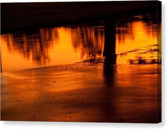 Sunset After Rain Canvas Print
