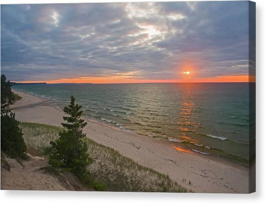 Sunset At Beaver Creek Canvas Print