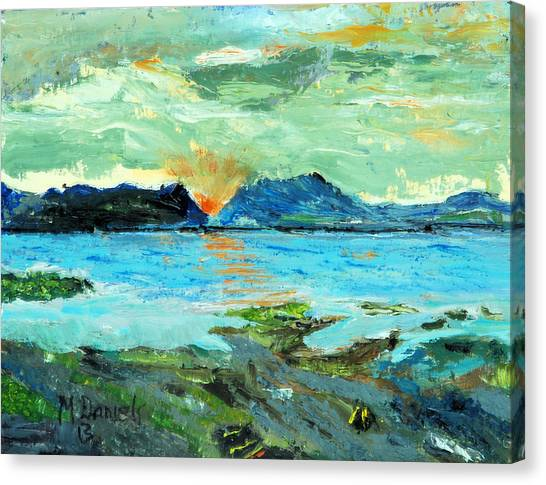 Sunset At Bic Canvas Print
