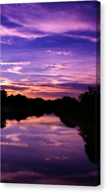 Canvas Print - Sunset At Boca Grande by Fizzy Image
