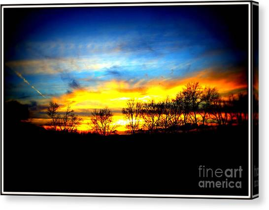 Sunset Beauty Canvas Print