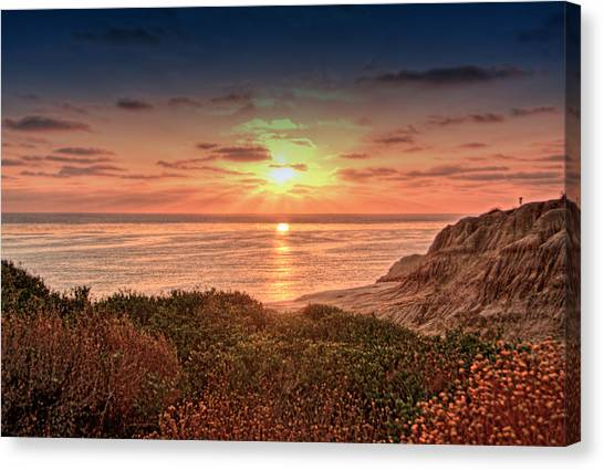 Sunset Cliffs 20130616 B Canvas Print