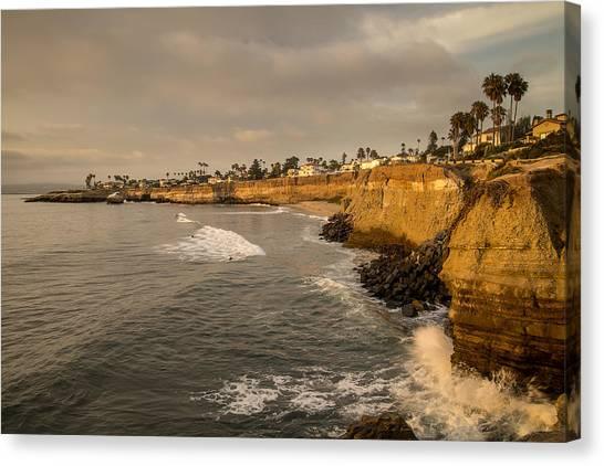 Sunset Cliffs 4 Canvas Print