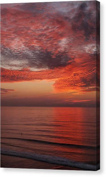 Sunset Cliffs Sunset 1 Canvas Print