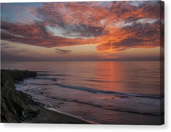 Sunset Cliffs Sunset 2 Canvas Print