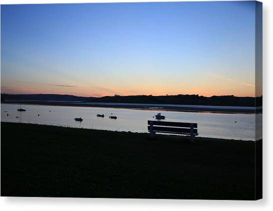 Sunset Courtmacsherry Co Cork Canvas Print by Maeve O Connell