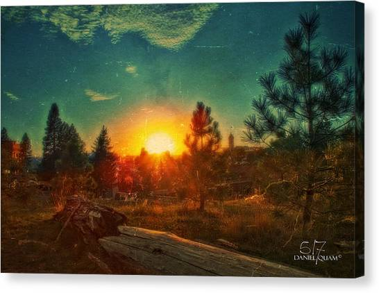 Sunset Canvas Print by Dan Quam
