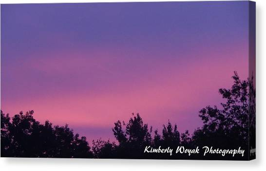Sunset Dance Canvas Print
