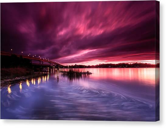 Sunset Drift Canvas Print