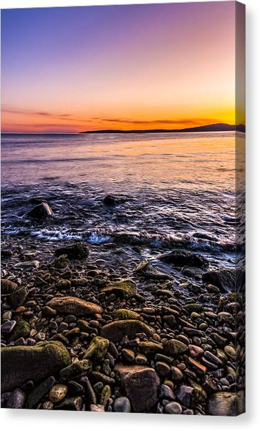 Sunset Photos Elgol Isle Of Skye Canvas Print